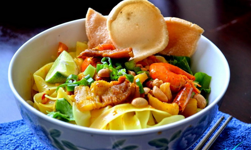 Mi Quang is considered a celebratory dish, often served at family reunions - Photo: blogspot
