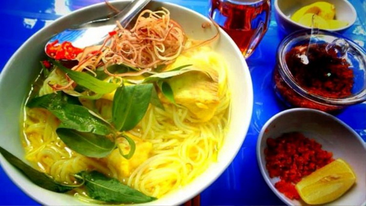 The fish noodles of Long Xuyen – An Giang has its own taste – Photo: Internet
