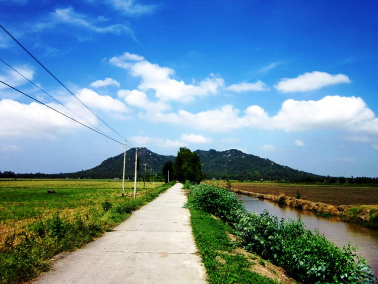 The pathway to Tra Su – Photo: Internet