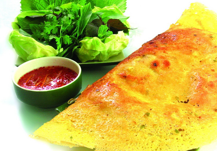 Banh Xeo (Vietnamese crepe) - Photo: Internet