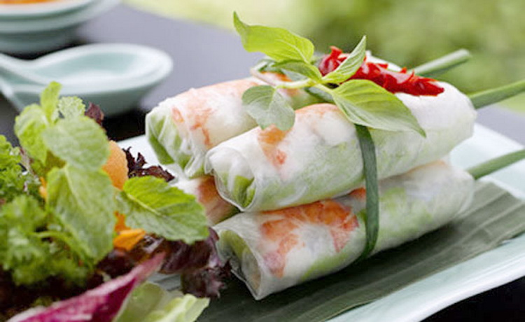 Goi Cuon ( Spring roll) - Photo: Internet