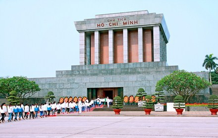 Ho Chi Minh Mausoleum - Photo: Internet