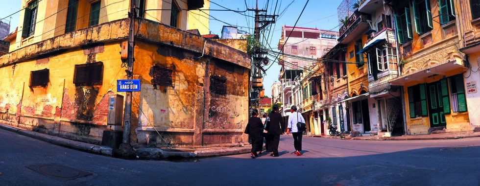 The beaty of Hanoi's old quarter - Photo: Internet