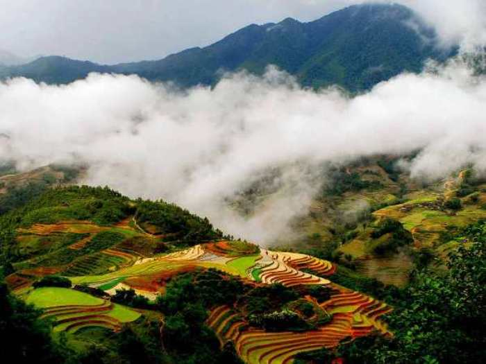 You can enjoy 4 seasons in a day in Sapa - Photo: Internet