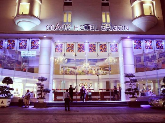 Grand Hotel Saigon is one of the most ancient hotels built in the style of France in Ho Chi Minh City - Photo: Internet