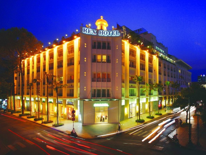 "Rex Hotel Saigon has been on the list of ""The top ten hotels"" voted by Vietnam Tourism Association for 10 consecutive years - Photo: Internet"