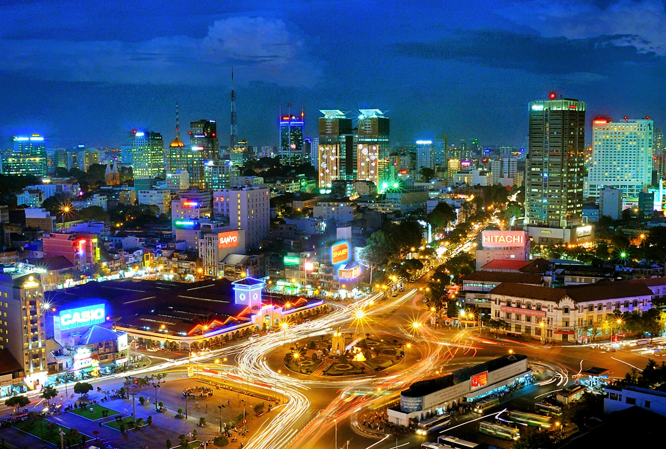 Ho Chi Minh City is one of the fastest-growing cities in the world - Photo: Internet
