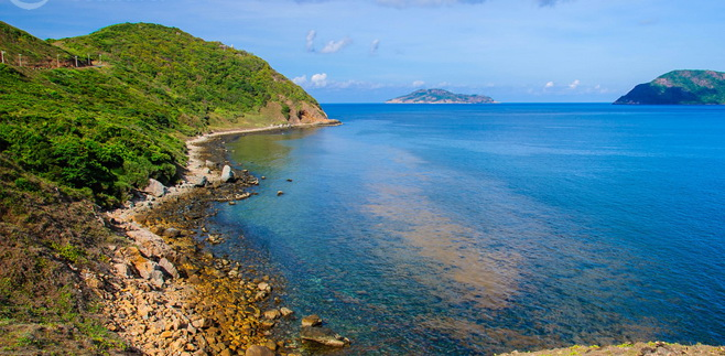 The beauty of Bay Canh Island - Photo: Internet