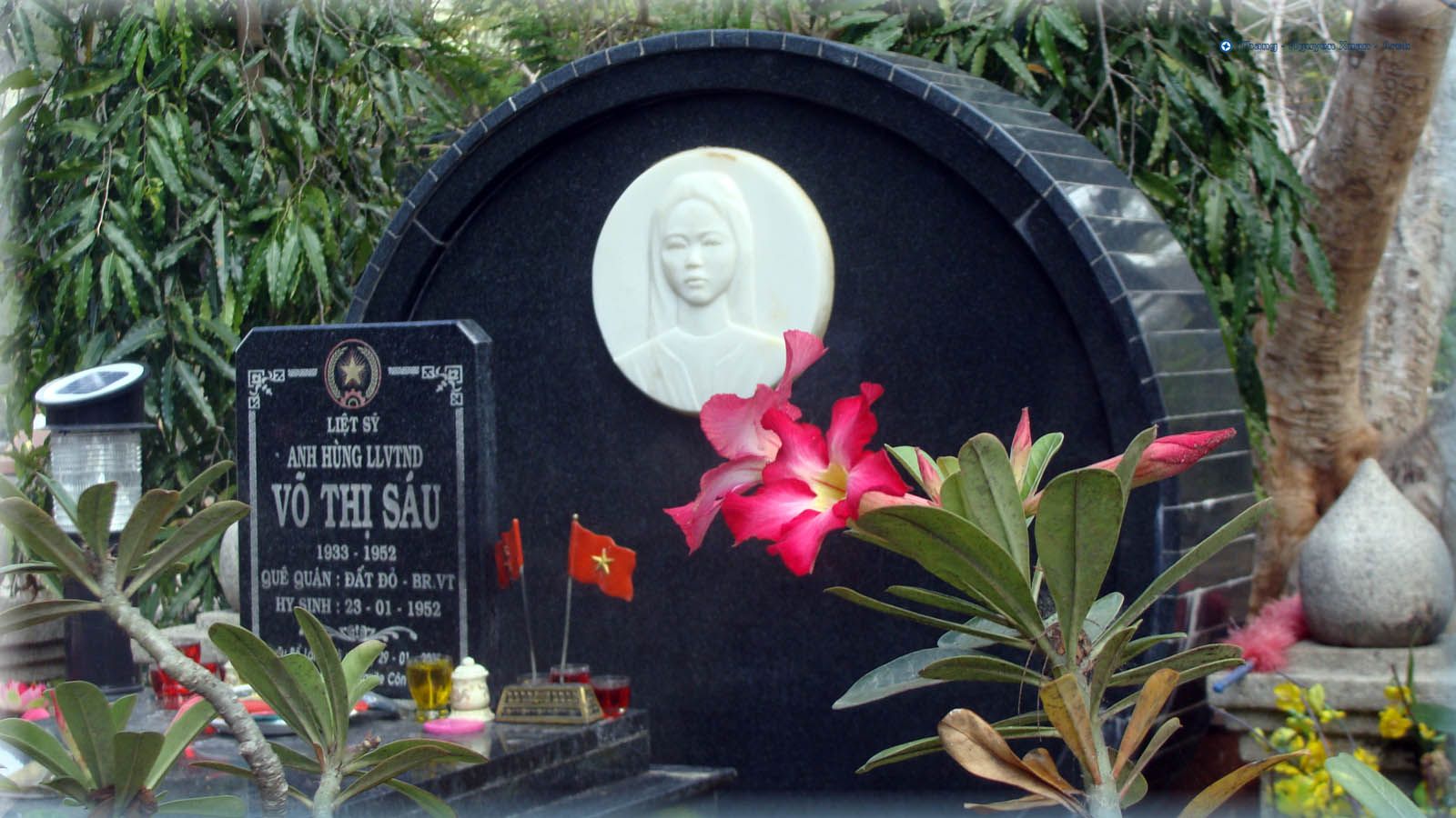 The grave of Vo Thi Sau at Hang Duong Cemetery - Photo: Internet