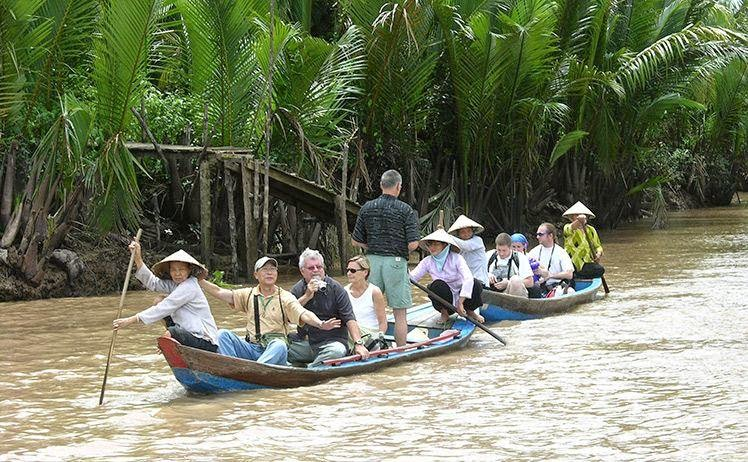 Do not forget to visit some hillocks when you come Ben Tre (Vietnam) - Photo: Internet
