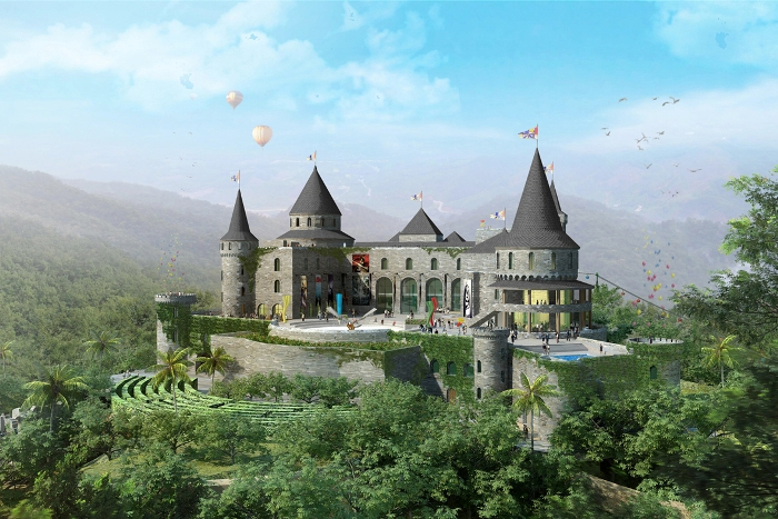 Ba Na Hills Fantasy Park is an indoor entertainment zone that is the most world-class in Vietnam - Photo: Internet