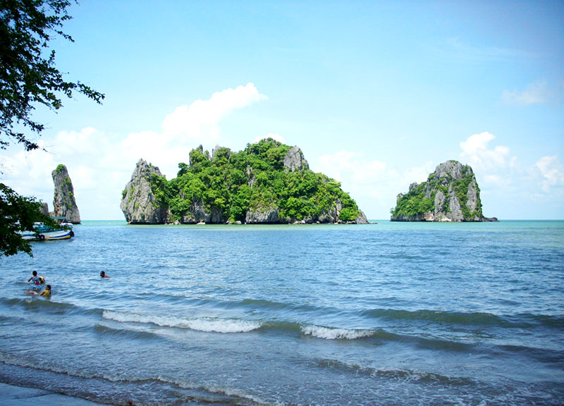 Mui Nai Beach (Ha Tien Town, Kien Giang Province) - Photo: Internet