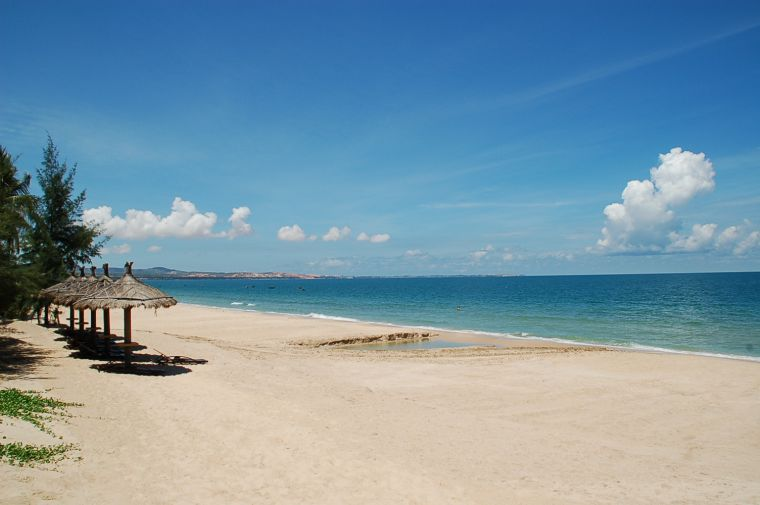 Nam Pho Beach (Rach Gia City, Kien Giang Province) - Photo: Internet