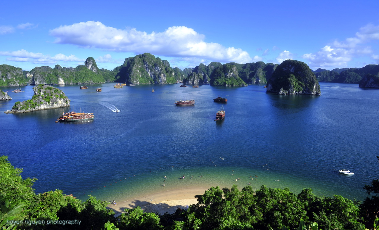 The beauty of Halong Bay, Vietnam - Photo: Internet
