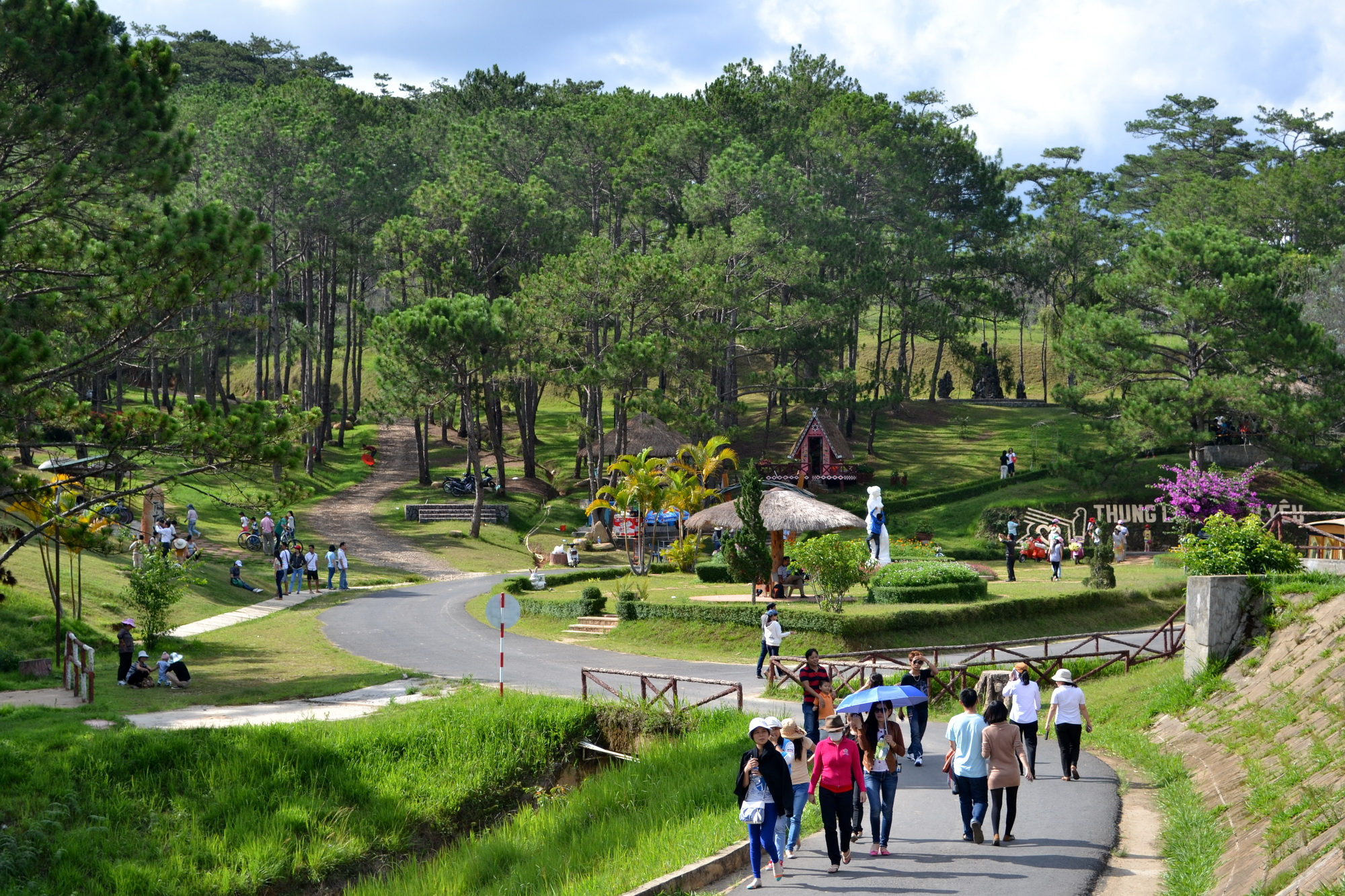 Love Valley of Dalat City, Lam Dong Province - Photo: Internet