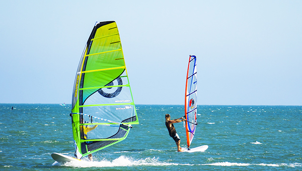 windsurfing on Mui Ne Beach, Phan Thiet City, Binh Thuan Province, Central of Vietnam - Photo: Internet