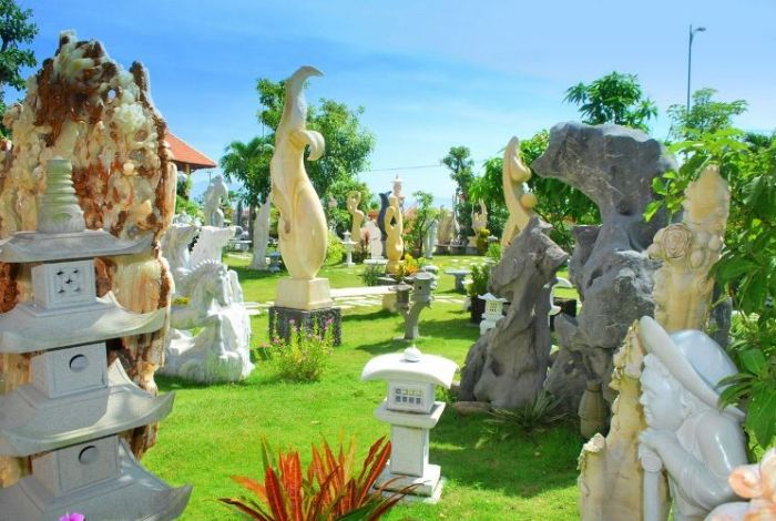 Non Nuoc Marble Sculpture Village - a cultural destination of Da Nang City - Photo: Internet