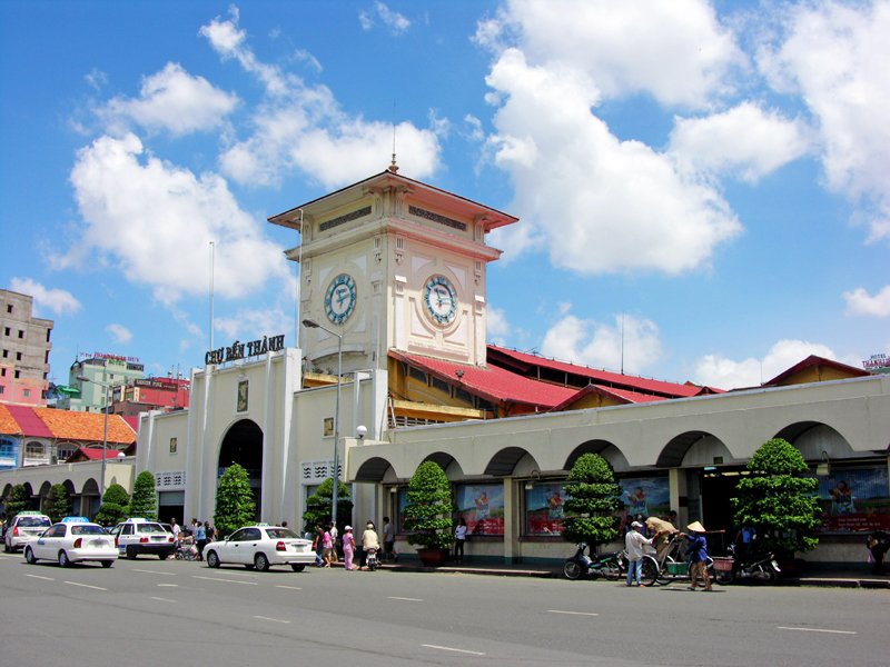 Ben Thanh Market in Ho Chi Minh City is one of symbols of Ho Chi Minh City - Photo: Internet