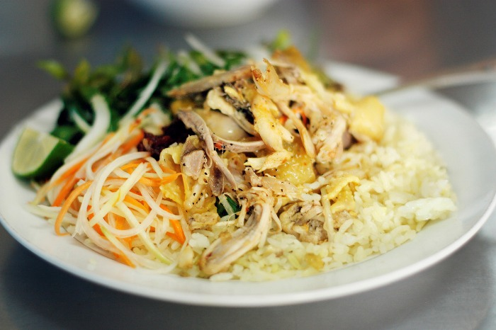 Those who once visit Hoi An Vietnam probably do not forget the Hoi An Chicken Rice dish - Photo: Internet