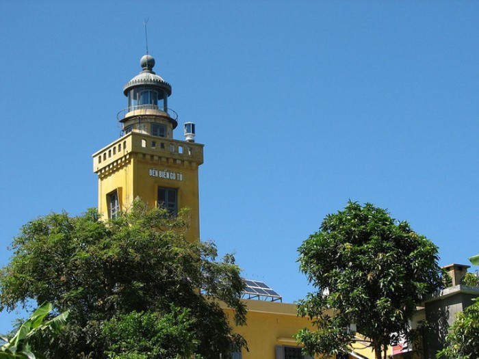 Co To Lighthouse is at the height of 101 m of Co To Island - Photo: Internet