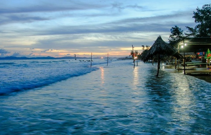 Van Chay Beach is one of the most wonderful beaches of Co To Island - Photo: Internet