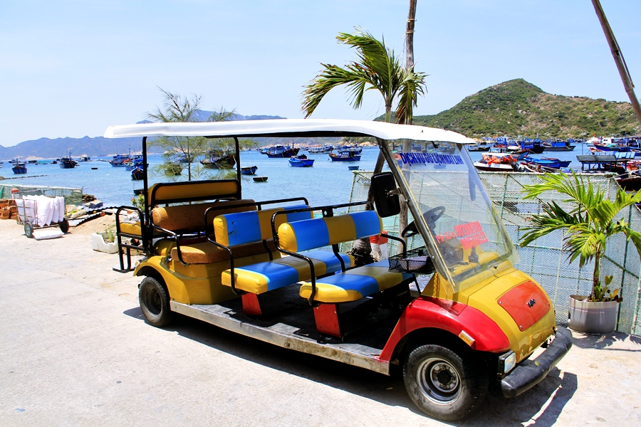 Resort Jeep for sightseeing