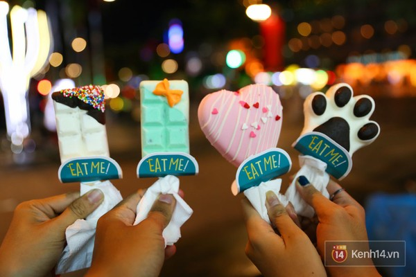 Ultra cute ice cream sticks