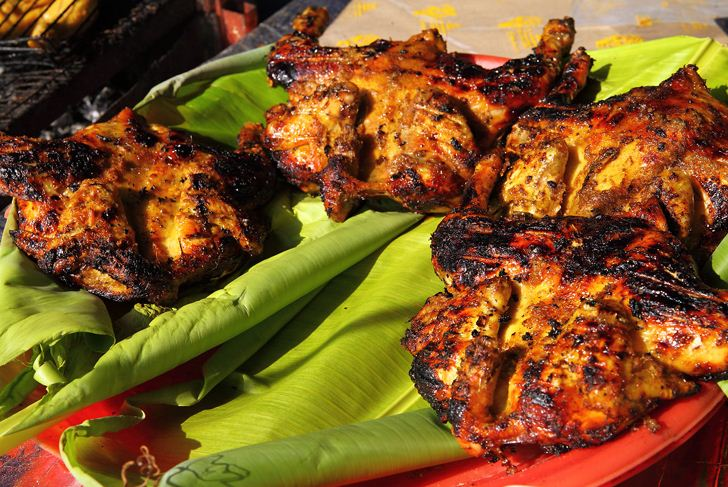 Ayam Percik chicken