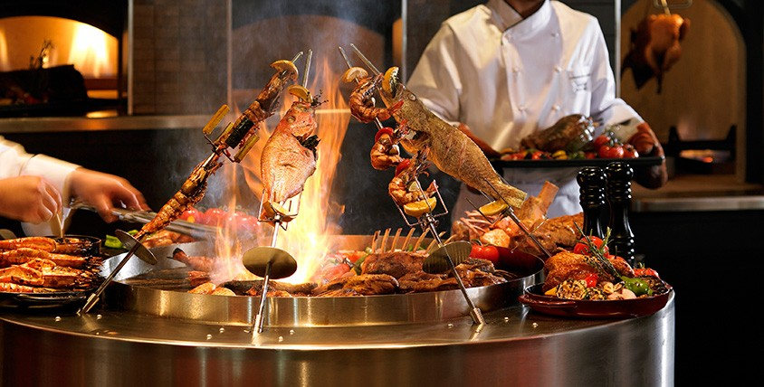 An amazing grill dishes - Photo: Atlantisthepalm.