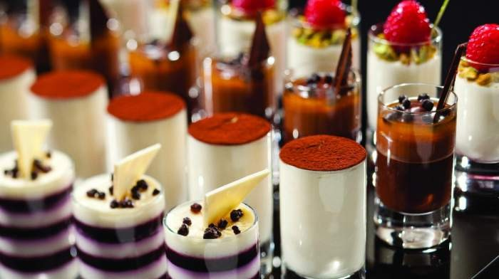 Dessert collection at Caesars Palace - Photo: Caesars