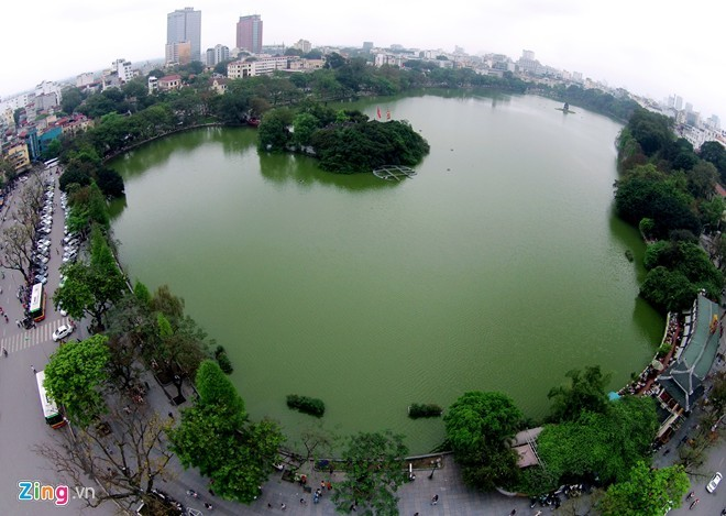 A visit to Hanoi would be incomplete without a wander around Hoan Kiem Lake
