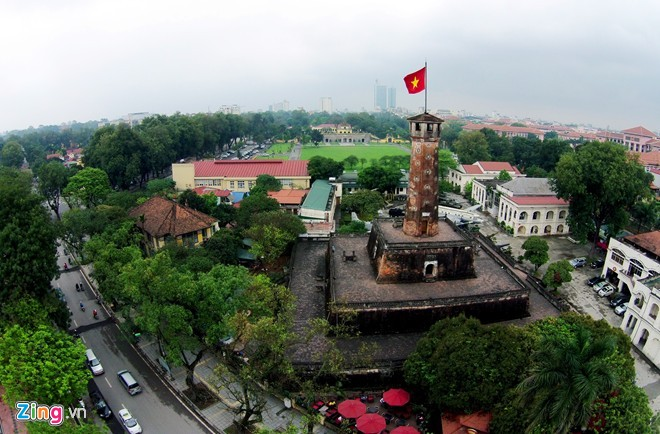 The ancient Imperial Citadel of Thang Long