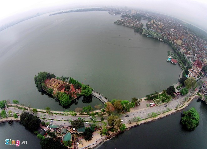 C is the largest freshwater lake in Hanoi