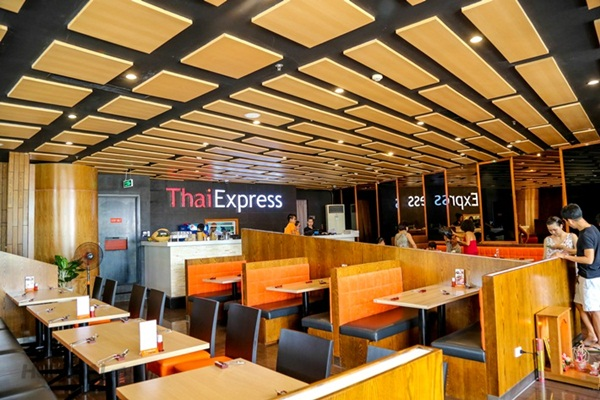 Modern space of Thai Express