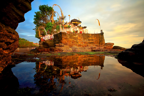The land of temples