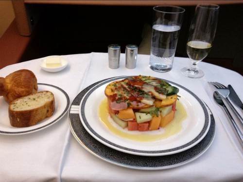 Singapore Airlines - Business class