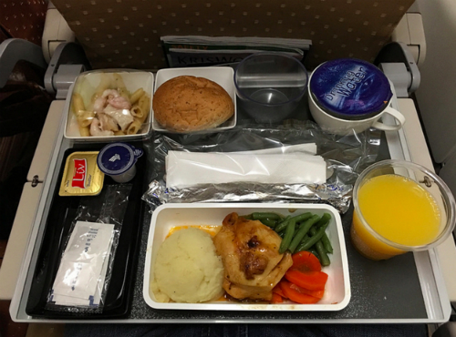 Singapore Airlines - Economy class