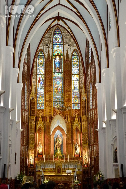 Inside the Joseph's Cathedral