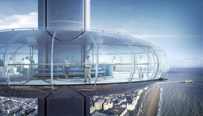 An observatory from a height of 162m - Photo: BusinessInsider