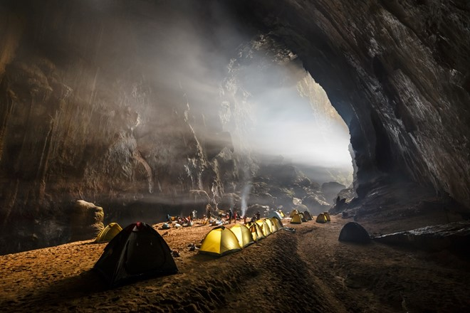 Inside the Son Doong cave