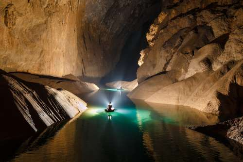 Tourists can explore the mythical cave