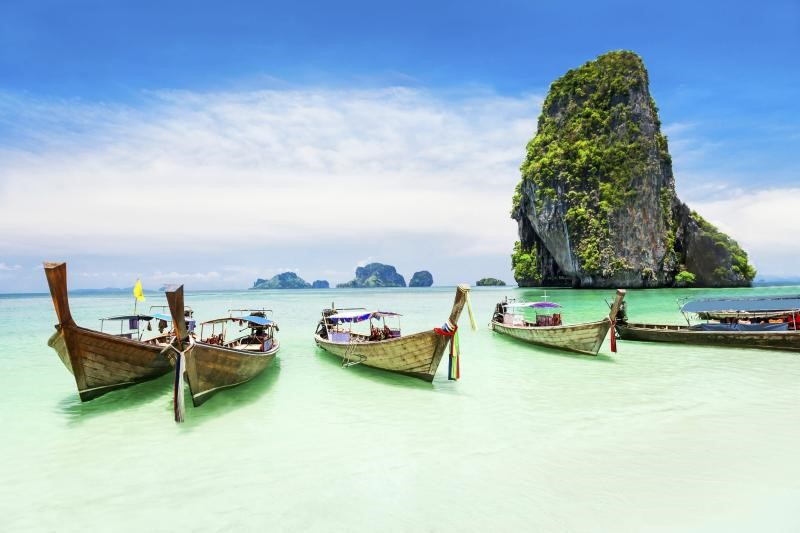 A very popular tourist attraction in Thailand