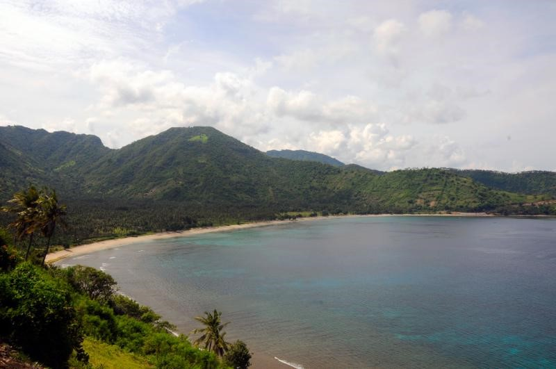 Lombok with its unspoiled nature