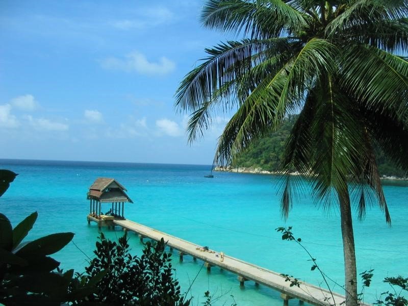 Perhentian Island and its beautiful beach is highly rated
