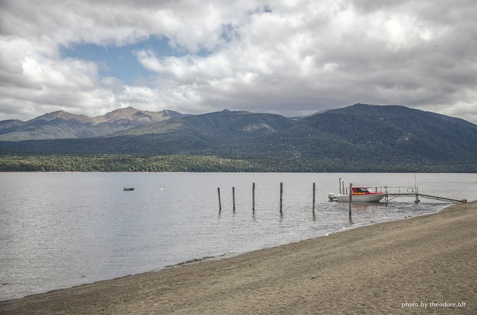 Lake Te Anau in Southland region