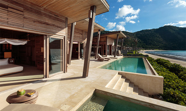 Six Senses Con Dao is one of the most expensive and most beautiful resorts in Vietnam. Photo: sixsenses