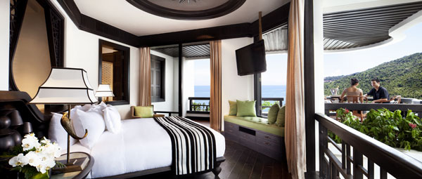 The most impressive thing of the InterContinental Danang is its ocean view rooms. Photo: InterContinental