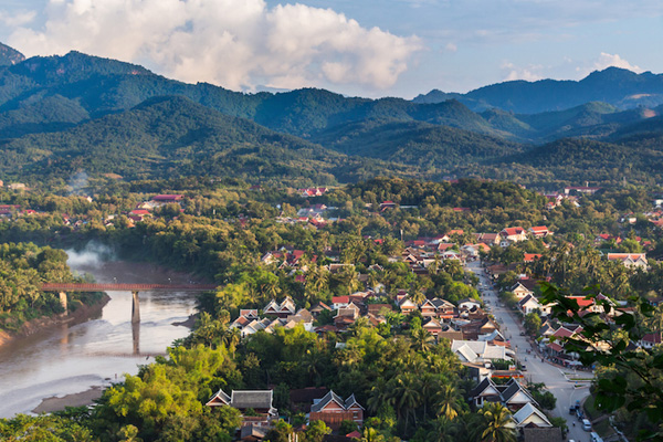 The pagodas in Luang Prabang are among the most sophisticated Buddhist temples in Southeast Asia, and are richly decorated