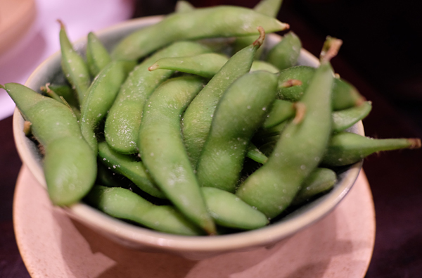 Edamame is easily found in any Japanese restaurants