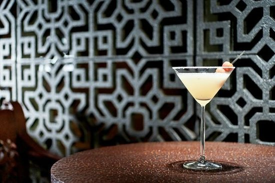 Signature drinks at Lam Son bar are well known as lemon grass or ginger martinis